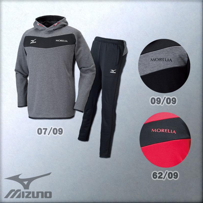 【送料無料】 2016年モデル ミズノ MIZUNO スウェット スーツ 上下 セット モレリア MORELIA スウェットシャツ パンツ P2MC6541 P2MD6541