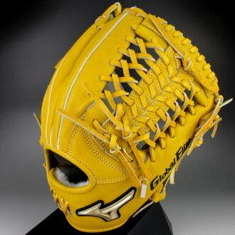供美津濃美津濃軟式手套內場手使用的右側投球的全球化的精英FC線1AJGR12223-47