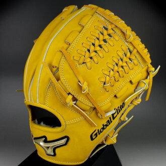 供美津濃美津濃軟式手套內場手使用的右側投球的全球化的精英FC線1AJGR12243-47