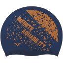 ショッピング水泳帽 ミズノ MIZUNO ゲンテイシリコーンキャップ N2JW104311 Nネイビー