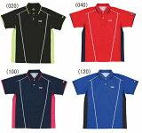 TSP レクタシャツ YTT-30275 (100)ネイビー (020)ブラック (040)レッド (120)ブルー