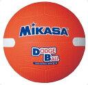 ミカサ(MIKASA) 教育用白線入りドッジボール2号 オレンジ