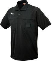 PUMA(プーマ) ハンソデ レフリーシャツ 01BLACKの画像