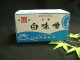 从很早以前不变的味,石野酱∶西京酱∶白酱2kg入[k昔から変わらぬ味、石野味噌:西京味噌:白味噌2kg入]