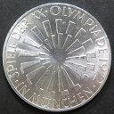 【銀貨】 ドイツ ミュンヘンオリンピック記念 10マルク銀貨(一次) 1972年 【オリンピック】