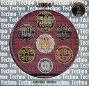 【平成16年】テクノメダルシリーズ2 2004年プルーフ貨幣セット 平成16年プルーフミントセット【2004年】