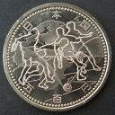 【記念硬貨】サッカーワールドカップ記念 500円硬貨A「ユーラシア、アフリカ」 平成14年(2002