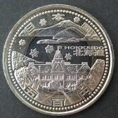 【記念硬貨】 「北海道」 地方自治法施行60周年 500円バイカラークラッド貨 10P03Dec16