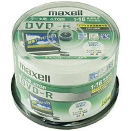 マクセル DRD47WPD.50SP データ用16倍速対応DVD-R 4.7GB 50枚パック