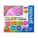 1~4倍速対応 データ用CD-RWメディア(700MB・5枚) CDRW80MIX.1P5S