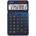 SHARP EL-VN82-AX 卓上電卓 12桁 50周年記念モデル ディープブルー