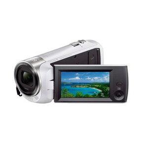 【ポイント10倍!】ソニー HDR-CX470-W デジタルHDビデオカメラレコーダー ホワイト