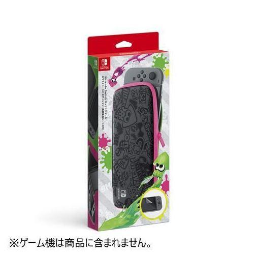 任天堂 Nintendo Switchキャリングケース スプラトゥーン2エディション(画面保護シート付き) HAC-A-PSSAD