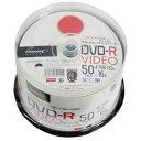 HIDISC TYDR12JCP50SP 16倍速対応DVD-R 50枚パック4.7GB ワイドプリンタブル