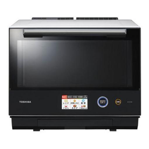 東芝 ER-SD7000-W 過熱水蒸気オーブンレンジ 「石窯ドーム」 30L グランホワイト
