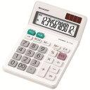 シャープ EL-772-JX 電卓 ミニナイスサイズタイプ 12桁