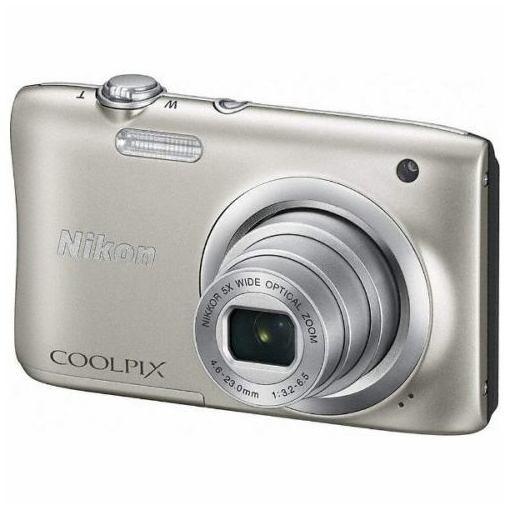 【ポイント5倍!12/11(火)午前1:59まで】ニコン A100SL デジタルカメラ 「COOLPIX(クールピクス)」 A100 シルバー