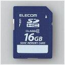 エレコム MF-FSD016GC4R データ復旧SDHCカード 16GB