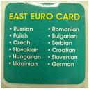 東江物産 GLC-EE12 東ユーロ言語カード