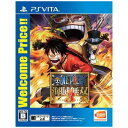 ワンピース 海賊無双3 Welcome Price PS Vita (Ps Vitaゲームソフト)VLJM-35430