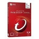 トレンドマイクロ ウイルスバスター クラウド 1年版 PKG TICEWWJDXSBUPN3700Z