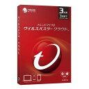 トレンドマイクロ ウイルスバスター クラウド 3年版 PKG TICEWWJDXSBUPN3701Z...