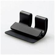 エレコム P-DSCLPKBK スマートフォン用 キーボードクリップスタンド ブラック