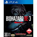 BIOHAZARD RE:3 Z Version 通常版 PS4 PLJM-16581
