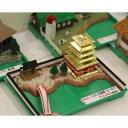 ショッピングプラモデル マイクロエース マイクロエース 箱庭シリーズ No.04 1/250 五重塔(ゴールド) プラモデル 模型