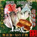 荒磯 【旬の干物セット 5種8品 送料無料】真あじ サンマ塩...