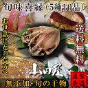 旬味喜縁 【干物セット 5種10品 送料無料】真あじ ひもの...