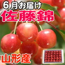 Cherry 佐藤錦特秀 LL500g filling [send it in the end of June] from Yamagata (500 g *1) [free shipping] [other products and bundling impossibility] [RCP]