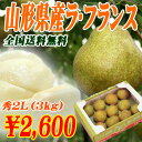 La France 秀 2L (3 kilos) from Yamagata for 2,012 years [free shipping] [comfortable ギフ _ expands an address] [easy ギフ _ Messe input] [marathon 201211_ food] [RCP1209mara] [RCP]
