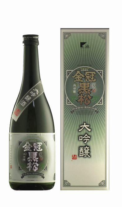 Crown formation in the kuromatsunai junmai daiginjyo 720 ml