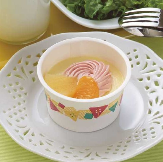 【学校給食】【日東ベスト】【冷凍食品】【学校給食】プリンアラモードX80個