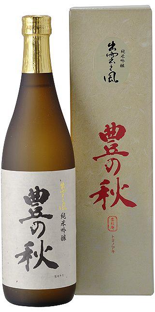 Fall of junmai ginjo Izumo wind 720 ml (10002151)