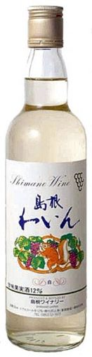 Shimane winery (sweet white 12% ) 550 ml