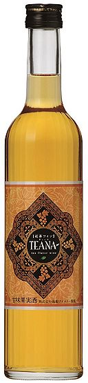 Shimane Winery tea wine TEANA ( Teena ) 500 ml