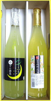 Temptation of yuzu citrus liqueur, Orange Liquor 2 pieces