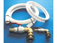 マリントイレバルブ配管キット ストレート仕様 排水口25mmの画像