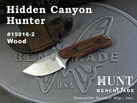 BENCHMADE/ベンチメイドハント#15016-2HiddenCanyonHunterヒドゥン・キャニオンハンター/ディモンド・ウッド1