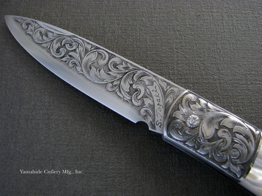 tosaki made Art Knife   art knifeCustom Art Knife