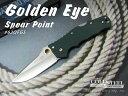 COLD STEEL/コールドスチール #62QFGS ゴールデンアイ/スピアポイント 折り畳みナイフ