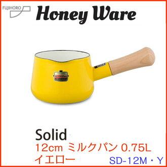 固態奶潘 12 釐米黃色固體 SD-12 M、 Y 富士搪瓷牛奶醬味噌湯湯斷奶食品居 Kappa 橋 !。