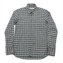 ファクトタム/FACTOTUMチェック長袖シャツ【46】Yシャツ/タイト【中古】