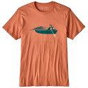 patagonia パタゴニア Ms Haul Aboard Organic T-Shirt/QZCO/XS 39149男性用 ピンク