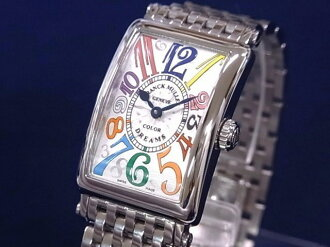 Franck Muller FRANCK MULLER 902QZ Long Island ladies カラードリーム SS Silver Dial quartz movement