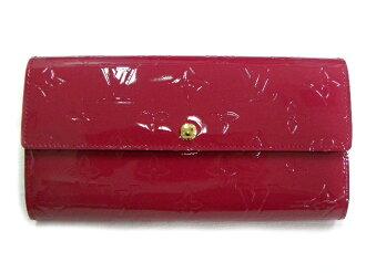 LOUIS VUITTON路易威登M91765ヴェルニ(玫瑰安迪安)ポルトフォイユ薩拉