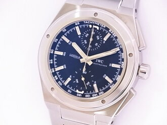 Beautiful article IWC IW37250 インヂュニアクロノグラフ SS self-winding watch