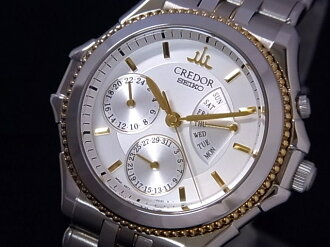 SEIKO SEIKO GCBG996 クレドールパシフィークレトログラード SSxYG silver clockface self-winding watch